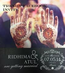indian wedding invitations chicago use social media for your wedding