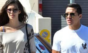 alexis sanchez wife all about sports alexis sanchez and his girlfriend michelle