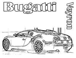 super fast cars coloring in bugatti pages eson me