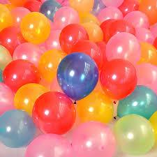 100pcs bag balloons decahedron printed wedding