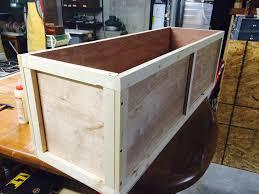christmas tree storage box christmas tree storage crate by seafarin lumberjocks