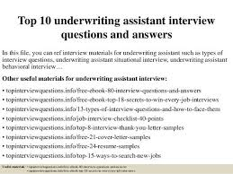 underwriting assistant cover letter marine underwriting assistant