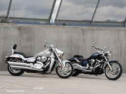 2009 suzuki m109r vs 2010 star raider s photos motorcycle usa