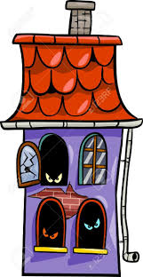 haunted houses clipart clipart of a window in a haunted house collection