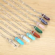 stone necklace pendants images Best natural stone crystal necklaces for spiritual seekers jpg