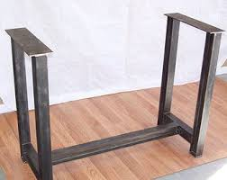 kitchen island legs metal industrial steel table base kitchen island bar legs