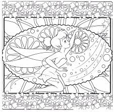 90 best tinkerbell coloring pages images on pinterest
