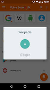 voice search android apps on play