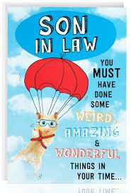 son in law birthday card funny humour joke hamster male