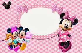 minnie mouse invitaciones imprimir gratis batidos
