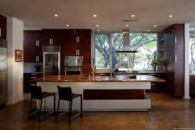 modern kitchen island design knotty pine custom cabinet beige