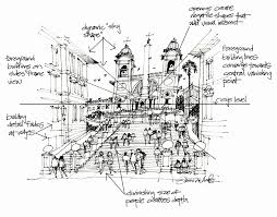 sketching with james richards lsu landscape architecture