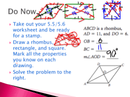 parallelogram worksheet