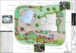collection landscape design plans photos free home designs photos