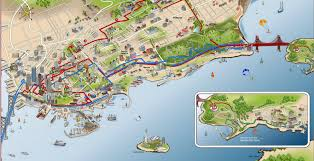 san francisco map for tourist plenty of beat attractions to explore in san francisco