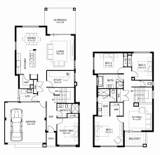 two home floor plans residential house plan pdf beautiful two storey house floor plan