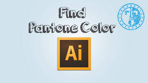 how to find pantone color code in adobe illustrator youtube