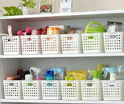 Plastic Bathroom Storage Storage Boxes Bathroom Baskets Bottles And Other Beautiful
