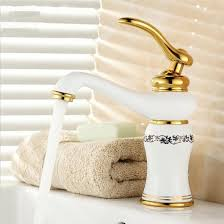 Brass Faucets Bathroom by 8 White Painted U0026 Porcelain Faucets Bathroom Sink Basin Mixer