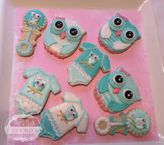 baby shower owls owls for baby shower cookie connection