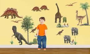 giant dinosaur wall stickers dinosaur decoration themes for kids giant dinosaur stickers