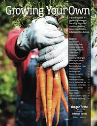 Vegetable Container Gardening Guide by Gardening Oregon State University Extension Service Gardening