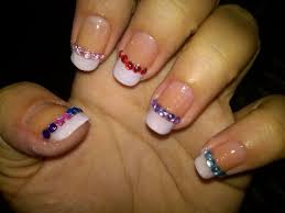 11 best designs for rhinestone nails images on pinterest