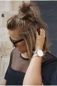 The Half Bun U0027hun U0027 Is The Hottest Hair Trend There Is Half Bun