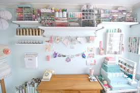 organizing bins home office shabby chic with art supplies boxes