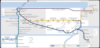 vancouver skytrain map vancouver skytrain map