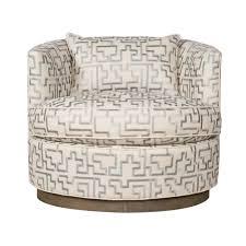 Leopard Print Swivel Chair Vanguard Michael Weiss Bernadette Swivel Chair Custom Designer