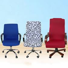 computer chair cover favorable office computer chair cover side zipper design