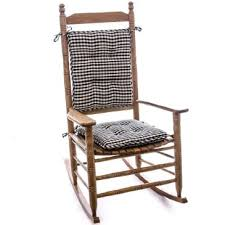 dress up your rocking chair with our porch theme gingham rocker