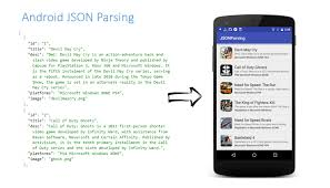 android json android json parsing using volley