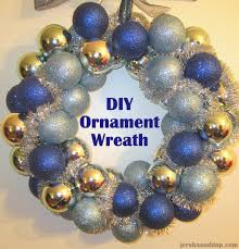 diy ornament wreath for under 10 wreaths and ornament