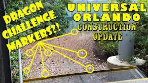 halloween horror nights jobs universal orlando resort construction update 8 6 17 dragon u0027s