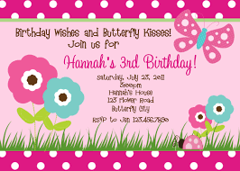 printable birthday invitations butterfly party little