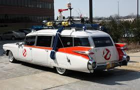 original ecto 1 ghostbusters car up for sale comic vine
