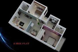 2bhk home design plans indian style 3d ash999 info