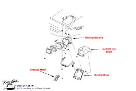 keen corvette c4 corvette headlight parts parts accessories for corvettes