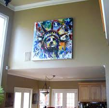 hang art high on a wall 678 468 0506 we install artwork that u0027s