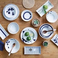 new in royal doulton pacific collection piatti blu mediterraneo