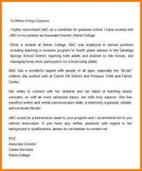 doc 600800 format of recommendation letter from employer u2013 20