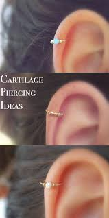 awesome cartilage earrings ear piercings ideas for only the trendiest mybodiart