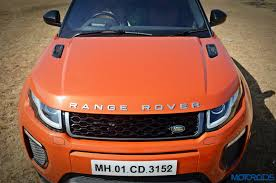 orange range rover range rover evoque 2 2 diesel review bling thing motoroids