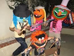 Halloween Band Costumes Group Costume Electric Muppet Mayhem Band