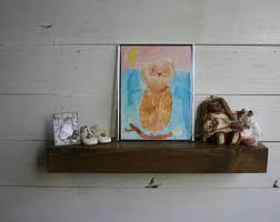 Wood Gallery Shelf by Gallery Wall Shelf Etsy