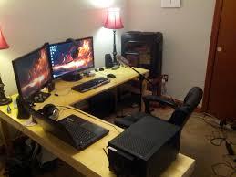 best gaming desk pad l shaped gaming desk desk