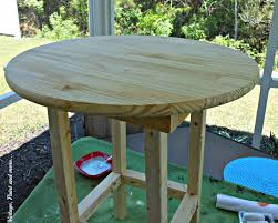 Rustic Wood Patio Furniture Diy Patio Table Vintage Paint And More