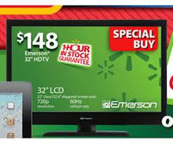 32 inch emerson tv is guaranteed walmart black friday 2012 deal